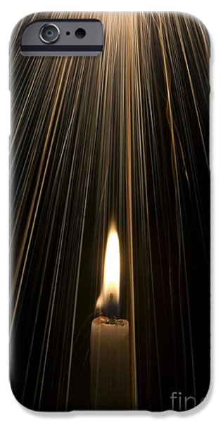 Candle Lit iPhone Cases - Candle Light iPhone Case by Tim Gainey