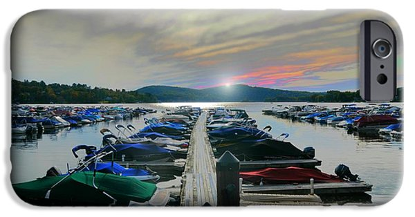 Connecticut Landscape iPhone Cases - Candlewood Lake iPhone Case by Diana Angstadt