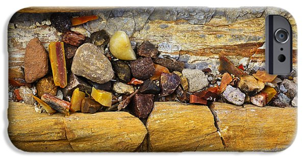 Petrified Forest Arizona iPhone Cases - Candy Store iPhone Case by Skip Hunt