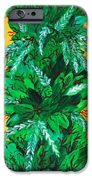 Dunk iPhone Cases - Cannabis iPhone Case by Teddy Maritopia