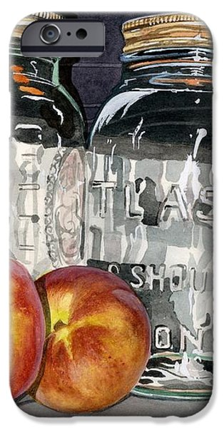 Canning Time iPhone Case by Barbara Jewell