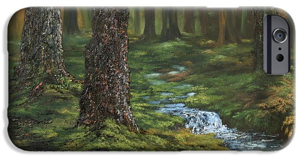 Recently Sold -  - Cemetary iPhone Cases - Cannock Chase Forest iPhone Case by Jean Walker