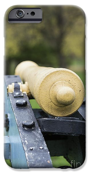 American Revolution iPhone Cases - Cannon at Valley Forge iPhone Case by John Greim