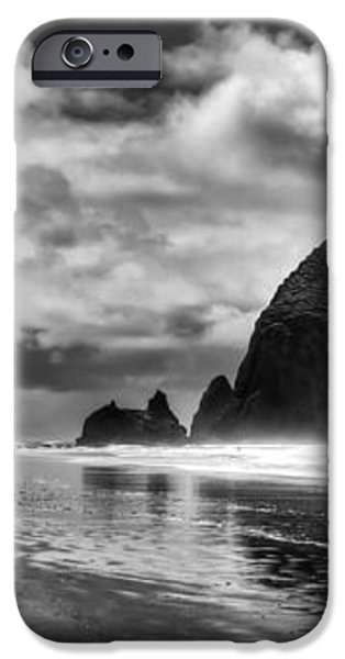 Cannon Beach on the Oregon Coast iPhone Case by David Patterson