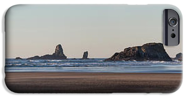Animals Photographs iPhone Cases - Cannon Beach Vast Coastline iPhone Case by Mike Reid