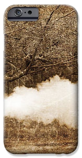 Cannon Fire iPhone Case by Mark Miller
