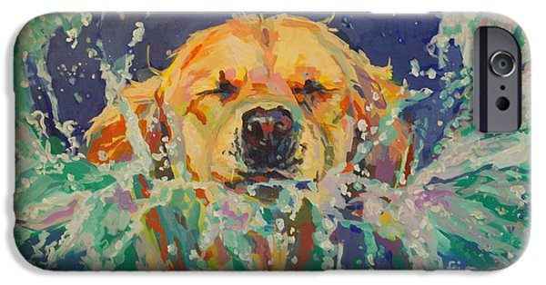 Retriever iPhone Cases - Cannonball iPhone Case by Kimberly Santini