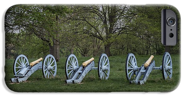 American Revolution iPhone Cases - Cannons at Valley Forge iPhone Case by John Greim