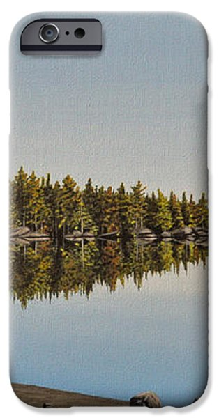 Canoe The Massassauga iPhone Case by Kenneth M  Kirsch