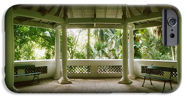 Garden Scene iPhone Cases - Canopy In The Botanical Garden, Jardim iPhone Case by Panoramic Images