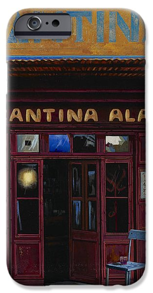 cantina Ala iPhone Case by Guido Borelli