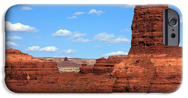 Canyon Country iPhone Cases - Canyon Country - Utah iPhone Case by Aidan Moran