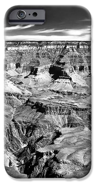 Canyon Craters iPhone Case by John Rizzuto