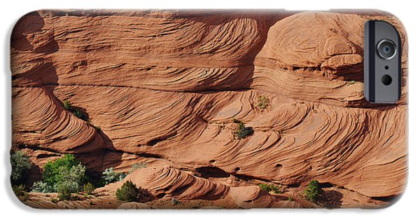 Chelly iPhone Cases - Canyon de Chelly - A fascinating geologic story iPhone Case by Christine Till