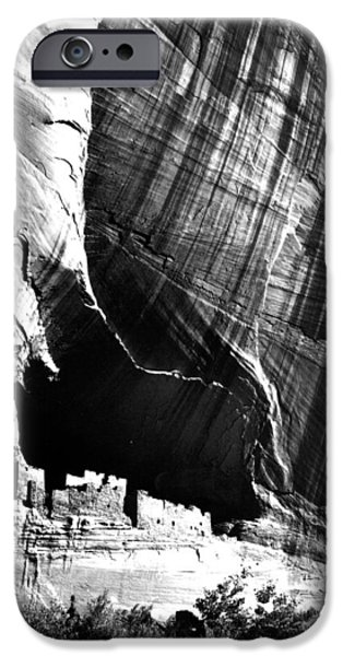 Chelly iPhone Cases - Canyon de Chelly Arizona iPhone Case by Ansel Adams