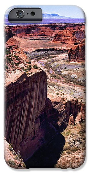 White House iPhone Cases - Canyon de Chelly iPhone Case by Thomas R Fletcher