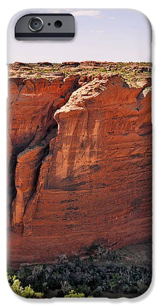 Canyon de Chelly - View from Sliding House Overlook iPhone Case by Christine Till