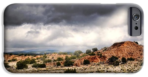 Approaching Storm iPhone Cases - Canyon Moves iPhone Case by Diana Angstadt