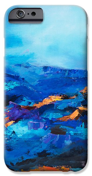 Canyon Song iPhone Case by Elise Palmigiani