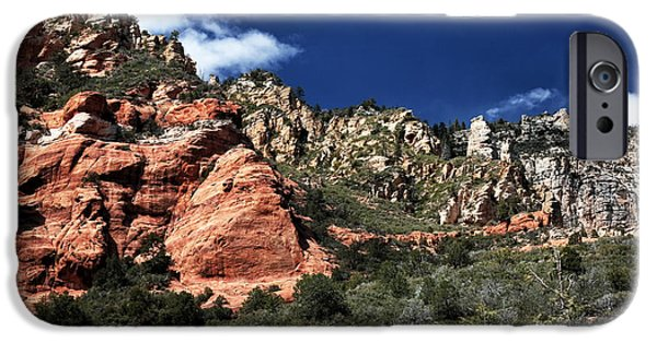 Oak Creek Canyon iPhone Cases - Canyon View iPhone Case by John Rizzuto