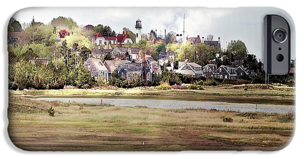 Chatham iPhone Cases - Cape Cod Americana - Coming To Stage Harbor iPhone Case by Constantine Gregory