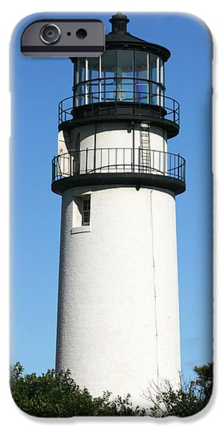 Michelle iPhone Cases - Cape Cod Highland Lighthouse iPhone Case by Michelle Wiarda