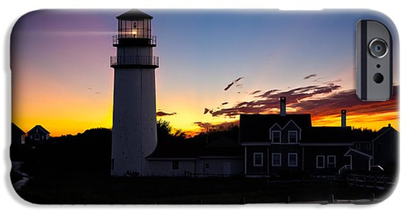 Cape Cod Lighthouse iPhone Cases - Cape Cod Light iPhone Case by Bill  Wakeley
