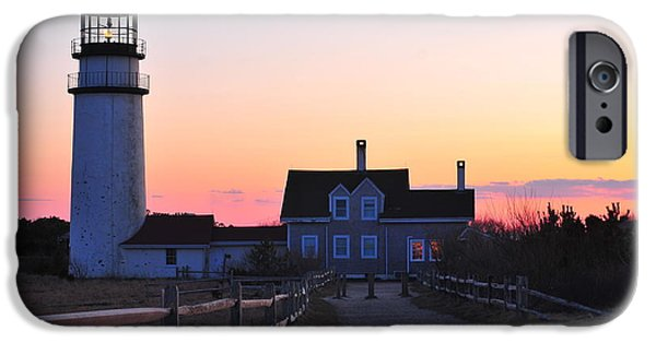 Cape Cod Lighthouse iPhone Cases - Cape Cod Light iPhone Case by Catherine Reusch  Daley