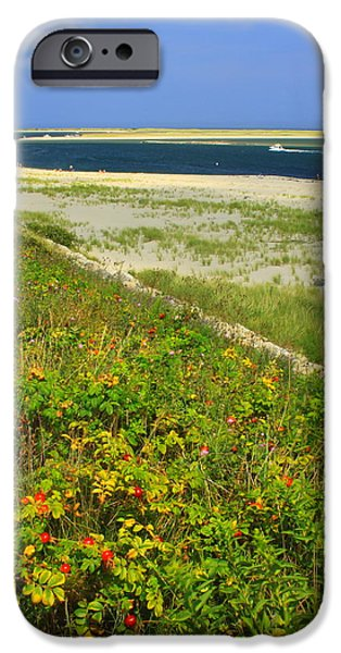 Chatham iPhone Cases - Cape Cod Lighthouse Beach Chatham iPhone Case by John Burk