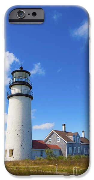 Cape Cod iPhone Cases - Cape Cod Lighthouse iPhone Case by Diane Diederich