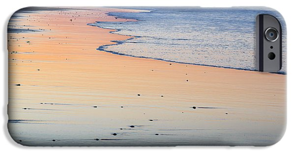 Cape Cod iPhone Cases - Cape Cod National Seashore Sunset iPhone Case by Bill Wakeley