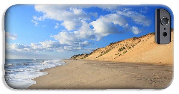 Massachusetts Coast iPhone Cases - Cape Cod Ocean Beach iPhone Case by John Burk