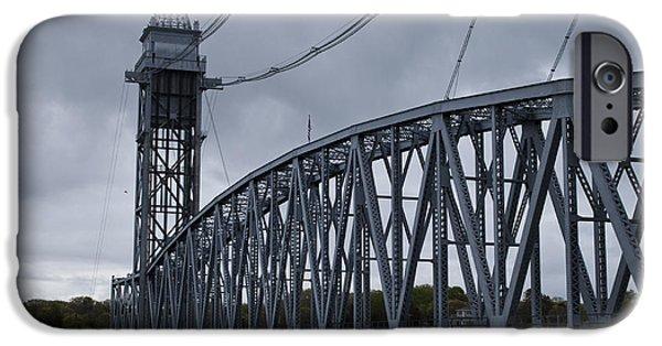 Central Massachusetts iPhone Cases - Cape Cod Railroad Bridge No. 1 iPhone Case by David Gordon
