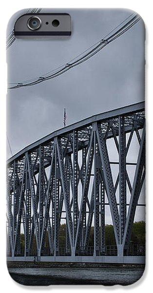 Cape Cod Railroad Bridge No. 1 iPhone Case by David Gordon