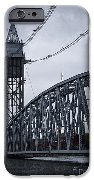 Central Massachusetts iPhone Cases - Cape Cod Railroad Bridge No. 2 iPhone Case by David Gordon