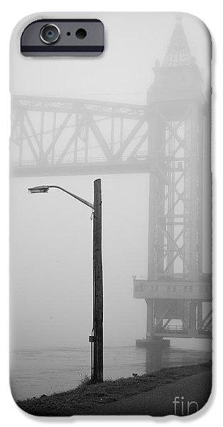 Central Massachusetts iPhone Cases - Cape Cod Railroad Bridge No. 3 iPhone Case by David Gordon
