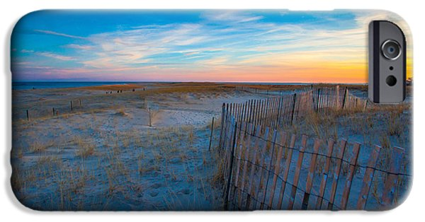 New England Lighthouse iPhone Cases - Cape Cod Sunset iPhone Case by Brian MacLean