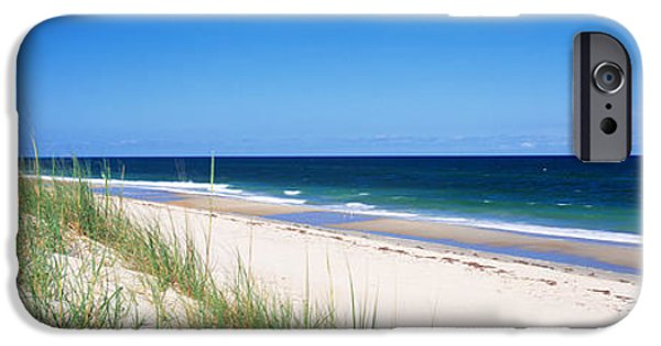 Sand Dunes iPhone Cases - Cape Hatteras National Park, Outer iPhone Case by Panoramic Images