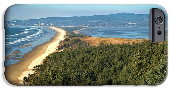 Cape Lookout iPhone Cases - Cape Lookout Coastal View iPhone Case by Adam Jewell