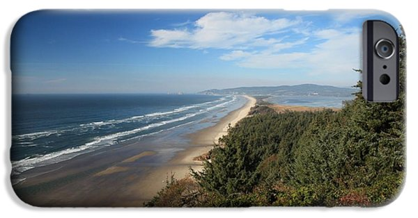 Cape Lookout iPhone Cases - Cape Lookout Oregon iPhone Case by Adam Jewell