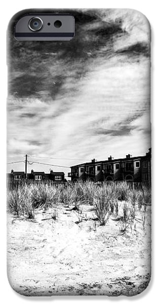 Cape May Beach Houses iPhone Case by John Rizzuto