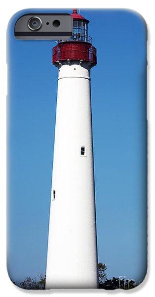 Cape May Lighthouse iPhone Case by John Rizzuto