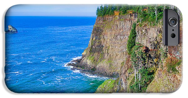 States Tapestries - Textiles iPhone Cases - Cape Meares  iPhone Case by Dennis Bucklin