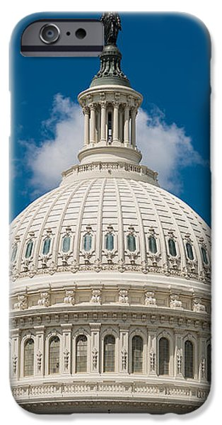 Capital Dome Washington D C iPhone Case by Steve Gadomski