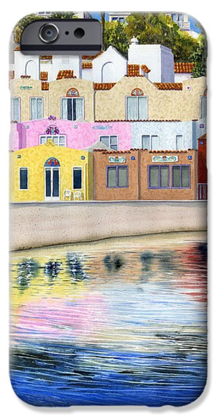 Santa Cruz iPhone Cases - Capitola Venetian iPhone Case by Karen Wright