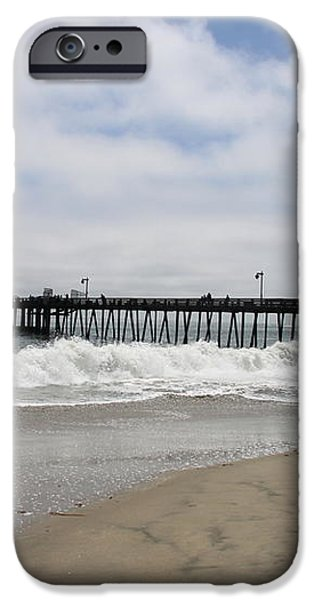 Capitola Wharf iPhone Case by Christiane Schulze Art And Photography