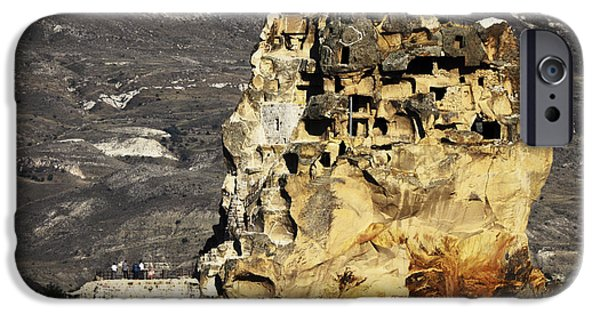 East Pyrography iPhone Cases - Cappadocia iPhone Case by Jelena Jovanovic