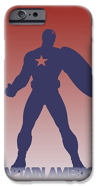 Thor iPhone Cases - Captain America 3 iPhone Case by Joe Hamilton