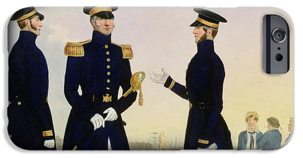 Uniform iPhone Cases - Captain Flag Officer And Commander iPhone Case by Eschauzier and Mansion