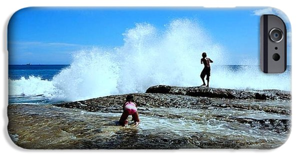 Splashy iPhone Cases - Captured The Moment iPhone Case by Imelda Sausal-Villarmino